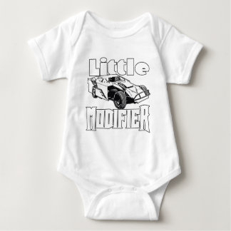Little Modifier - Dirt Modified Racing Baby Bodysuit