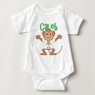 Little Monkey Caleb Baby Bodysuit