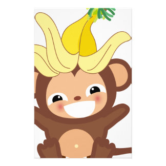 Little Monkey  Collection 101 Customized Stationery