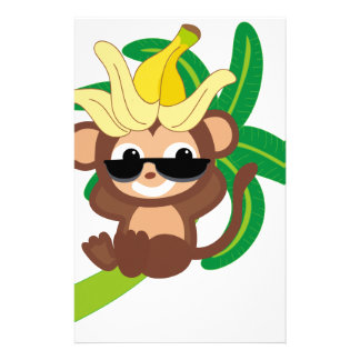 Little Monkey Collection 114 Customized Stationery