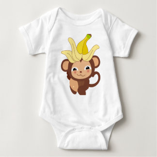 Little Monkey Collection 115 Baby Bodysuit