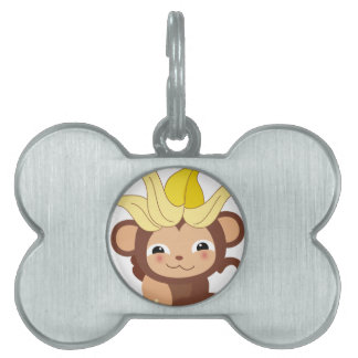 Little Monkey Collection 115 Pet ID Tag