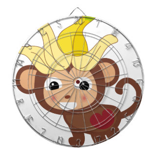 Little Monkey Collection 116 Dartboard With Darts