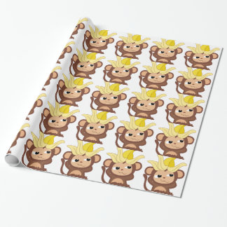 Little Monkey Collection 119 Wrapping Paper