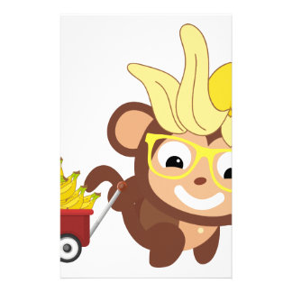 Little Monkey Collection 124 Custom Stationery