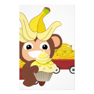 Little Monkey Collection 125 Customized Stationery