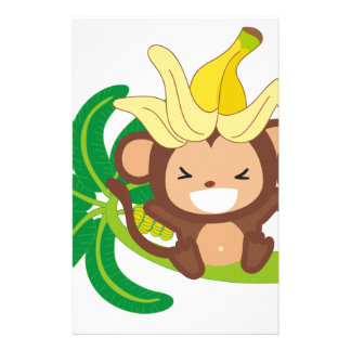 Little Monkey Collection 126 Stationery Design