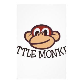 Little Monkey Custom Stationery