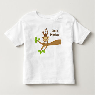 Little Monkey Custom Toddler Fine Jersey T-Shirt