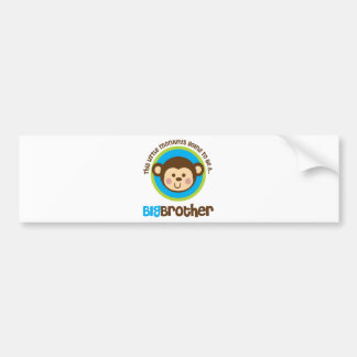 Little Monkey Going To Be A Big Brother Bumper Sticker