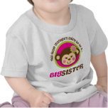 Little Monkey Going To Be A Big Sister T Shirts