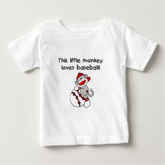Little Monkey Loves Baseball Shirt
