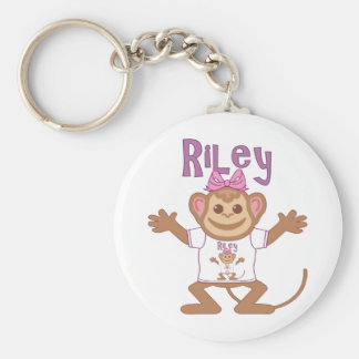 Little Monkey Riley Keychain