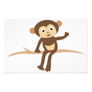 Little Monkey Stationery Paper