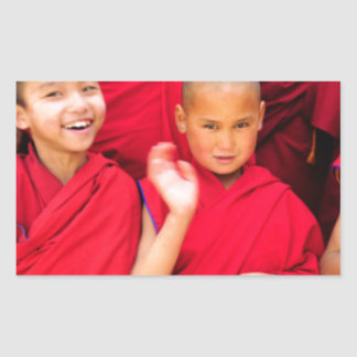 Little Monks in Red Robes