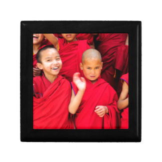 Little Monks in Red Robes Gift Box