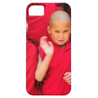 Little Monks in Red Robes iPhone 5 Covers