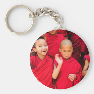 Little Monks in Red Robes Keychain