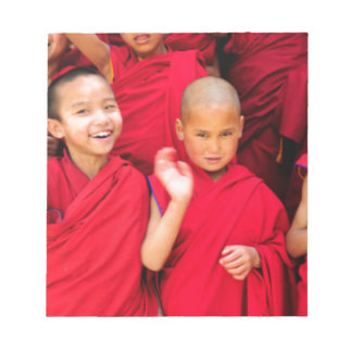 Little Monks in Red Robes Notepad