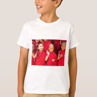 Little Monks in Red Robes T-Shirt