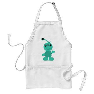 Little Monster Alien Creatures Apron