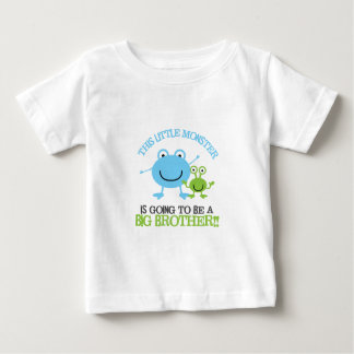 Little Monster Big Brother T-shirt