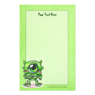 Little Monster Stationery