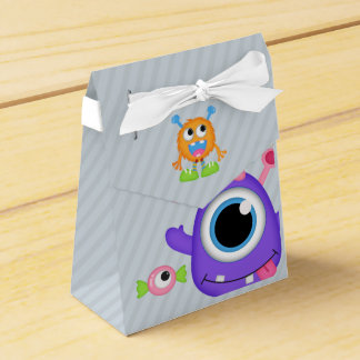 Little Monster themed Birthday Party Guest Favor Favor Box