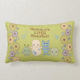 Little Monsters Pillow for Nursery