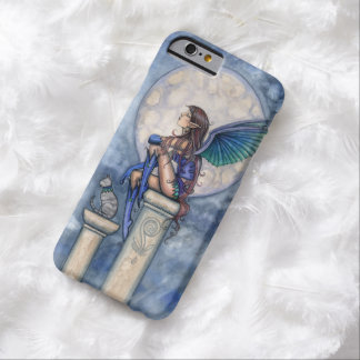 Little Moon Fairy and Cat Faerie Fantasy Art Barely There iPhone 6 Case