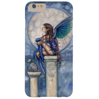 Little Moon Fairy and Cat Faerie Fantasy Art Barely There iPhone 6 Plus Case