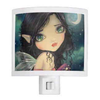 Little Moon Fairy Fantasy Art Night Light