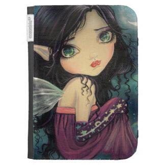 Little Moon Gothic Big-Eye Fairy Art Kindle Folio Cases