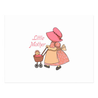 LITTLE MOTHER POSTCARD