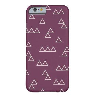 Little Mountains Phone Case - Plum