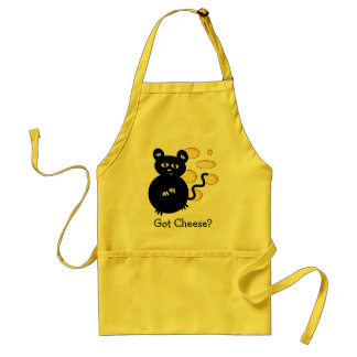Little Mouse with Swiss Cheese Fondue Standard Apron