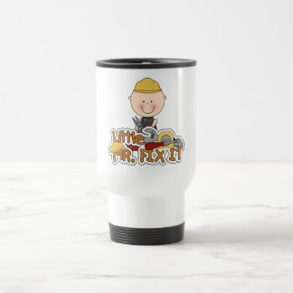 Little Mr. Fix It - Pliers T-shirts and Gifts Travel Mug