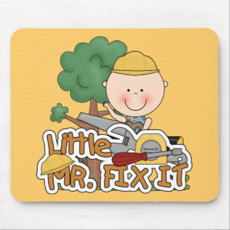 Little Mr. Fix It - Saw Tshirts and Gifts Mouse Pad