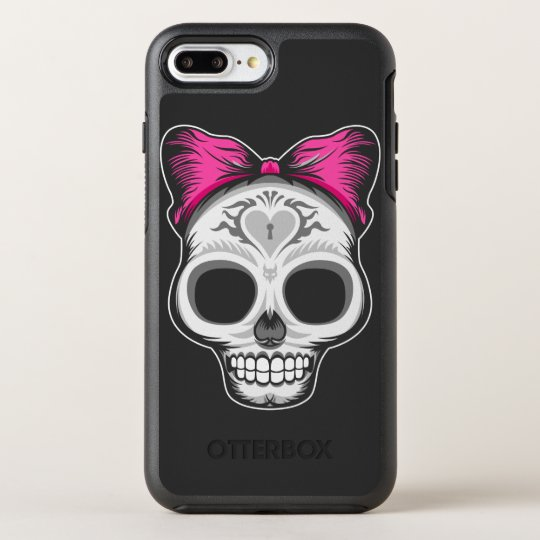 Little Ms. Sugar Skull OtterBox Symmetry iPhone 7 Plus Case