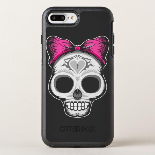 Little Ms. Sugar Skull OtterBox Symmetry iPhone 8 Plus/7 Plus Case