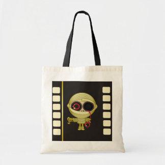 Little Mummy Horror Movie Budget Tote Bag