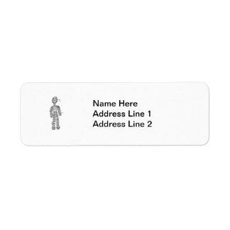 Little Mummy Return Address Label
