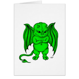 Little nasty Devil Greeting Cards