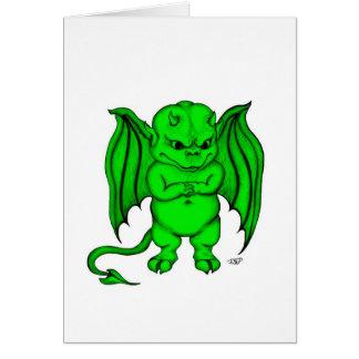 Little nasty Devil Greeting Card