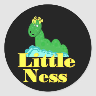Little Ness Mini Sticker
