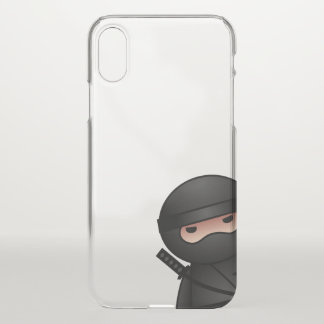 Little Ninja Warrior iPhone X Case