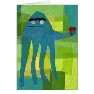Little Octopus Birthday Greeting Card