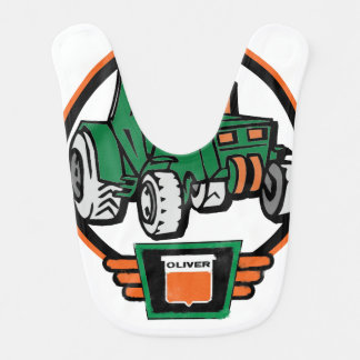 Little Oliver Tractor Driver Bib