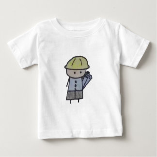 Little One architect baby tshirt
