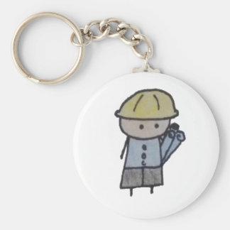 Little One architect keychain